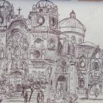 L'église de la Compagnie à Cusco