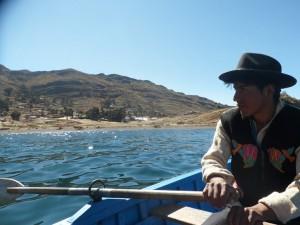 La pêche sur le lac Titicaca