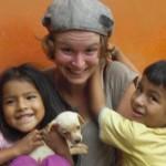 Louise, volontaire à Tingo